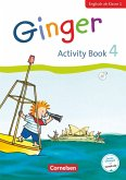 Ginger - Early Start Edition 4. Schuljahr - Activity Book mit Audio-CD, Minibildkarten und Faltbox