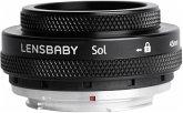 Lensbaby Sol 45 Canon EF Objektiv für Canon (46 mm Filtergewinde, Vollformat / APS-C Sensor)