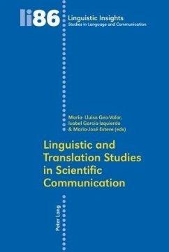 Linguistic and Translation Studies in Scientific Communication (eBook, PDF)