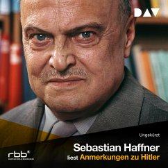Anmerkungen zu Hitler (MP3-Download) - Haffner, Sebastian