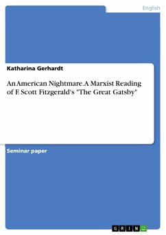 An American Nightmare. A Marxist Reading of F. Scott Fitzgerald's