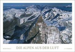 Die Alpen aus der Luft