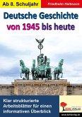 Deutsche Geschichte von 1945 bis heute (eBook, PDF)