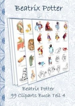Beatrix Potter 99 Cliparts Buch Teil 4 ( Peter Hase )