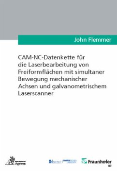 CAM-NC-Datenkette für die Laserbearbeitung von ...