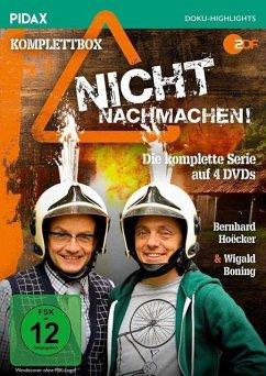 Nicht nachmachen! - Die komplette Serie (4 Discs) - Boning,Wigald/Hoëcker,Bernhard