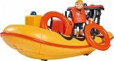 Simba 109251047 - Feuerwehrmann Sam, Neptun, Boot, Spielset