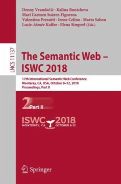 The Semantic Web - ISWC 2018