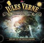 Die neuen Abenteuer des Phileas Fogg - Gefahr für die Propellerinsel, 1 Audio-CD
