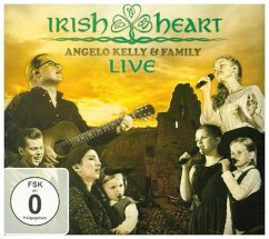 Irish Heart-Live (Cd & Dvd) - Kelly,Angelo & Family