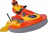 Simba 109251048 - Feuerwehrmann Sam, Juno, Jet Ski, Spielset
