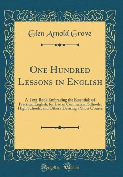 One Hundred Lessons in English