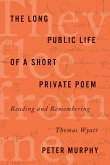 The Long Public Life of a Short Private Poem: Reading and Remembering Thomas Wyatt