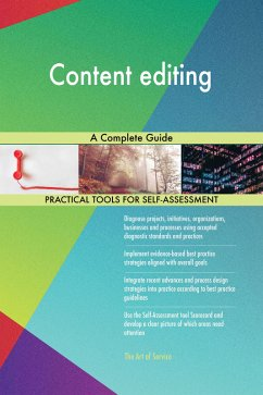 Content editing A Complete Guide (eBook, ePUB)