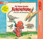 Der kleine Drache Kokosnuss erforscht die Dinosaurier / Der kleine Drache Kokosnuss - Alles klar! Bd.1 (1 Audio-CD)