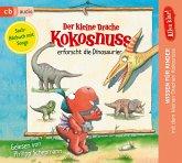 Der kleine Drache Kokosnuss erforscht... Die Dinosaurier / Der kleine Drache Kokosnuss - Alles klar! Bd.1 (1 Audio-CD)