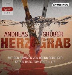 Herzgrab, 2 MP3-CD - Gruber, Andreas