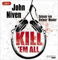 Kill 'em all, 1 MP3-CD - Niven, John