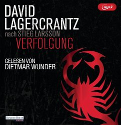 Verfolgung / Millennium Bd.5 (2 MP3-CDs) - Lagercrantz, David