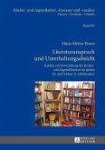 Literaturanspruch und Unterhaltungsabsicht (eBook, PDF)