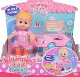 Simba 105143327 - Bouncin Babies Little Bonny mit Baby Walker, Puppe