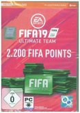Fifa 19 Ultimate Team 2.200 Points, Code in a Box