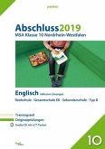 Abschluss 2019 - MSA Klasse 10 Nordrhein-Westfalen Englisch, m. Audio-CD