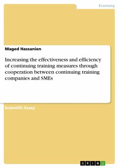 Increasing the effectiveness and efficiency of continuing training measures through cooperation between continuing training companies and SMEs (eBook, PDF)