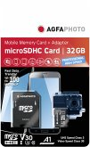 AgfaPhoto MicroSDHC UHS I 32GB Prof. High Speed U3 V30 A1