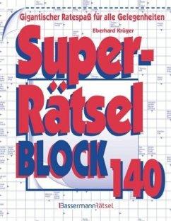 Superrätselblock - Krüger, Eberhard