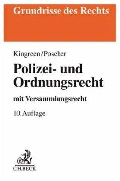 Polizei- und Ordnungsrecht - Kingreen, Thorsten; Poscher, Ralf