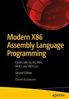 Modern X86 Assembly Language Programming - Kusswurm, Daniel
