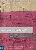 """""""Im Namen des Volkes..."""""""