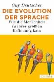 Die Evolution der Sprache (eBook, PDF)