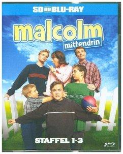 Malcolm mittendrin - Staffel 1-3 (SD on Blu-ray...