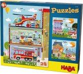 Puzzles Kleine Feuerwehr (Kinderpuzzle)