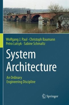 System Architecture - Paul, Wolfgang J.; Baumann, Christoph; Lutsyk, Petro; Schmaltz, Sabine