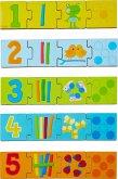 HABA 304258 - Zuordnungsspiel Zahlen, Holzpuzzle, Lernspiel