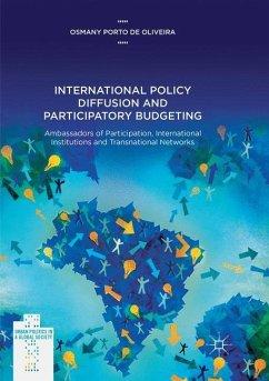 International Policy Diffusion and Participatory Budgeting - Porto de Oliveira, Osmany