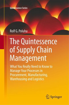 The Quintessence of Supply Chain Management - Poluha, Rolf G.