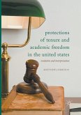 Protections of Tenure and Academic Freedom in the United States
