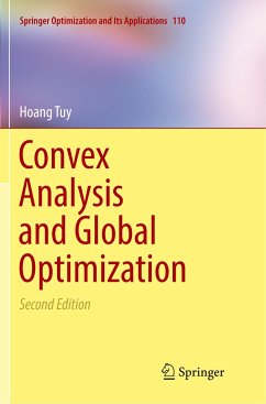 Convex Analysis and Global Optimization - Tuy, Hoang