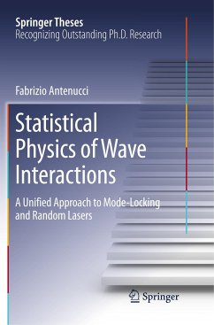 Statistical Physics of Wave Interactions - Antenucci, Fabrizio