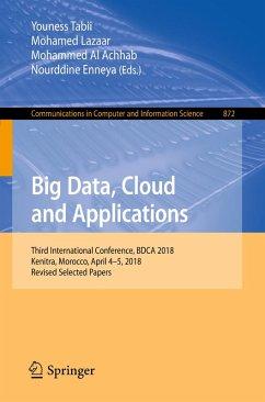 Big Data, Cloud and Applications (eBook, PDF)