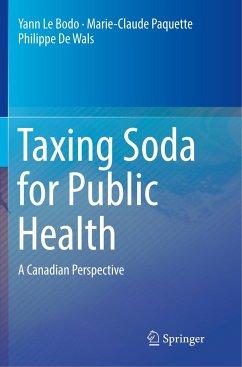 Taxing Soda for Public Health - Le Bodo, Yann;Paquette, Marie-Claude;De Wals, Philippe