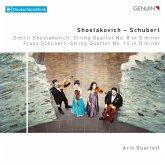 Streichquartett Op.110/Streichquartett D 810