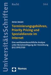 Terminierungsgebühren, Priority Pricing und Spezialdienste im Internet