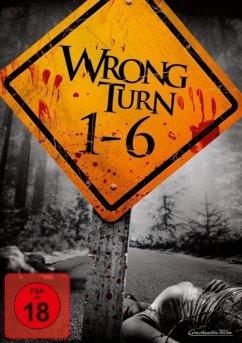 Wrong Turn 1-6 DVD-Box - Desmond Harrington,Eliza Dushku,Emmanuelle...