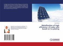 Metallization of high efficiency c-Si solar cells based on Cu-plating