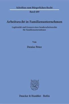 Arbeitsrecht in Familienunternehmen.